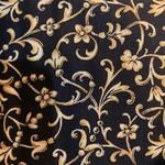 Timeless Treasures Kerst - Holliday - Black Gold
