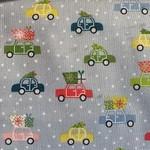 Makower uk Kerst - Auto Boom Cadeau - Grijs Multi