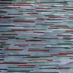 Hoffman Fabrics Kerst - Stripe - Grijs Multi