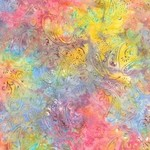 Timeless Treasures -  XTonga - Unicorn - Coupon - 70 cm x 275 cm