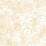Kanvas Studio -  Swirling Splendor - Cream - Coupon - 145 cm x 275 cm