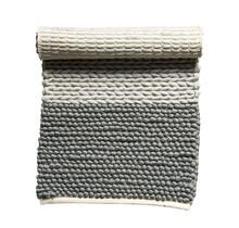 Wollen kleed in grijstinten