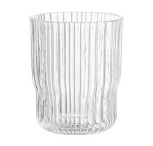 Drinkglas met ribbels, 10 cm