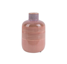 Vaas Bottle roze medium
