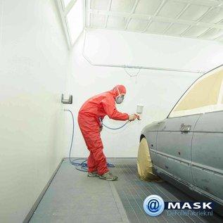 KEMTEX MAGAZIJN OPRUIMING: Spuitcabine Folie @MASK met aanbreng TAPE: 250cm x 20 meter