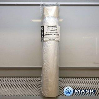 Horn & Bauer MAGAZIJN OPRUIMING: Spuitcabine Folie @MASK met aanbreng TAPE: 250cm x 20 meter