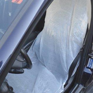 KEMTEX 100 wegwerp stoelhoezen, ter bescherming van de bekleding van de autostoel.