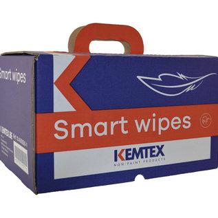 KEMTEX Smartwipes   Super kwalitatieve ontvetdoek. 200 coupons per doos