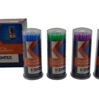 KEMTEX Micro retoucheer penselen 100st per doosje.