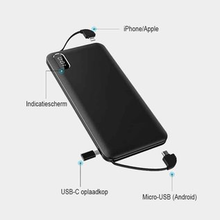 iSetchi Powerbank 10.000 mAh
