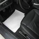 @Mask Vloermatten (blanco) ter bescherming van het auto interieur.