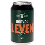 Hert Bier Hopvol Leven (IPA) in blik - 33cl