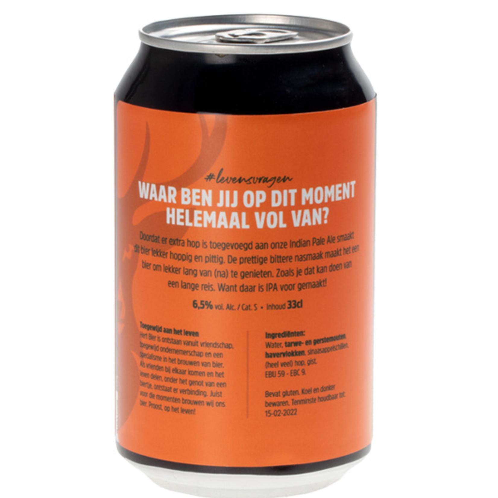 Hert Bier Hopvol Leven (Blik - 33cl)