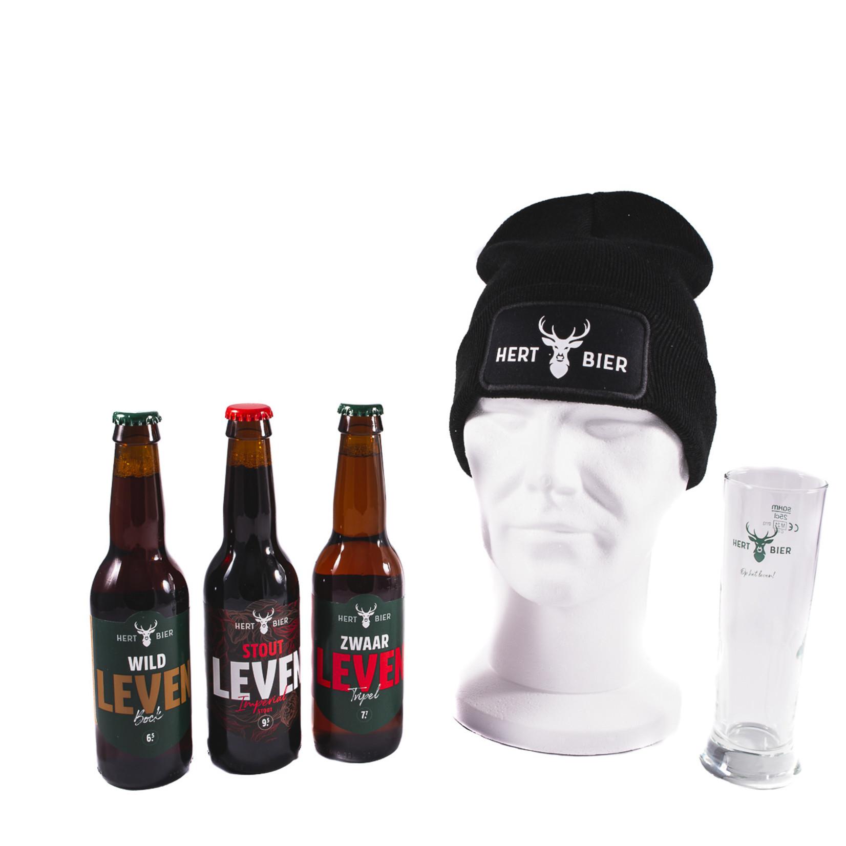 Hert Bier Stoer Leven Pakket