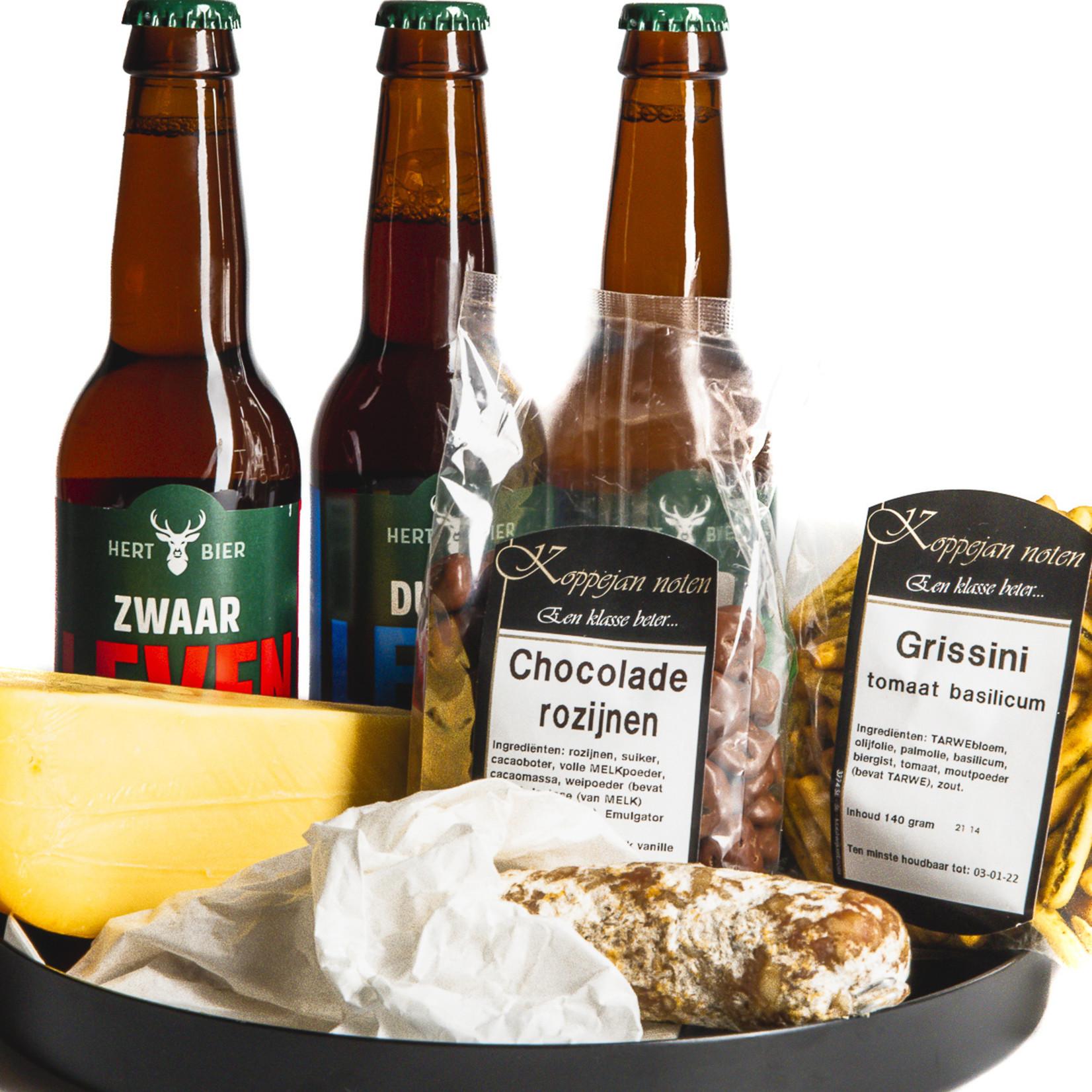 Hert Bier Beers and bites basic