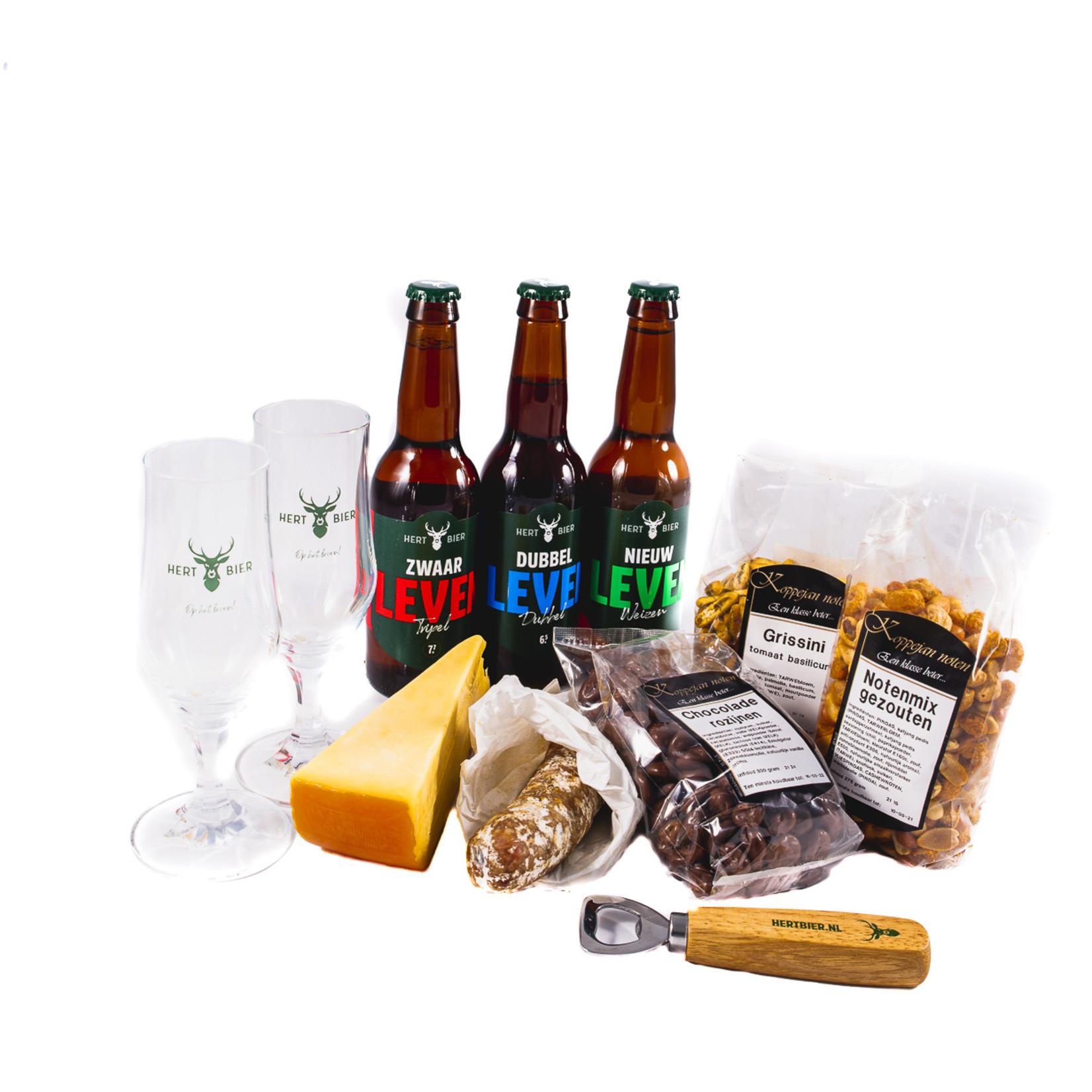 Hert Bier Beers and bites de luxe