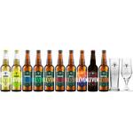 Hert Bier Bierpakket met 10 bieren + 2 glazen