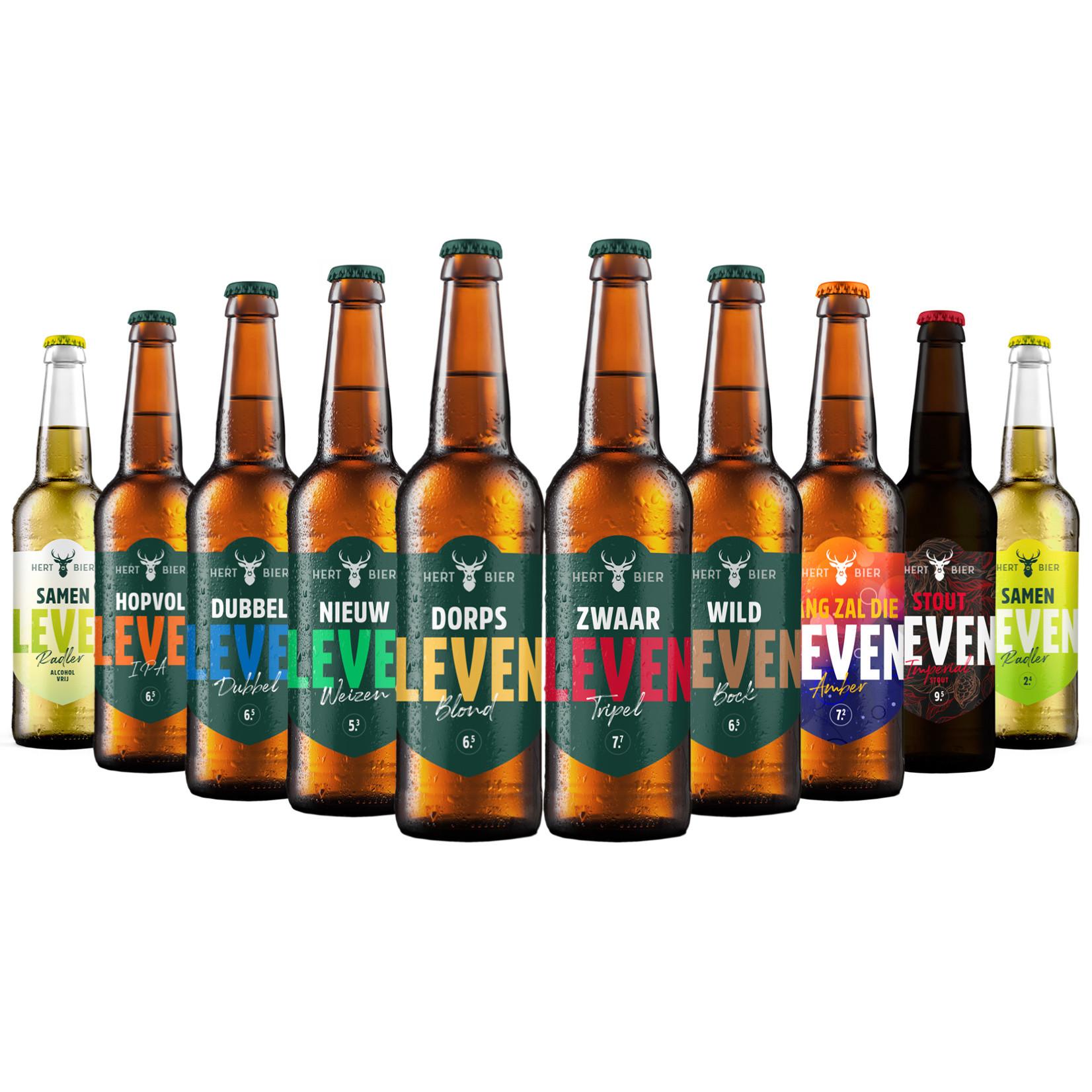 Hert Bier Stel je eigen Hert Bierpakket samen