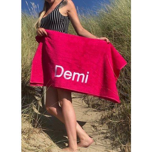 S&LT  Strandhanddoek borduren