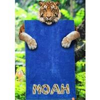 Badhanddoek met dierenprint