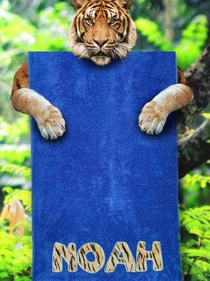S&LT  Badhanddoek met dierenprint