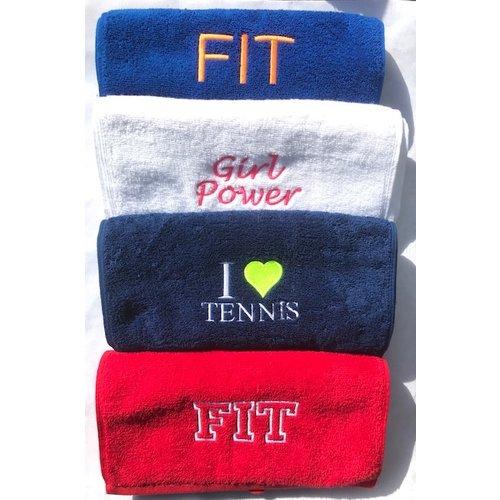 Sporthanddoek borduren