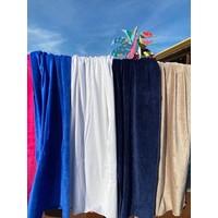 XL strandlaken velours - 7 kleuren
