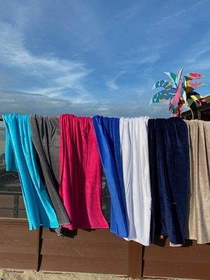 S&LT  Strandlaken velours - 7 kleuren