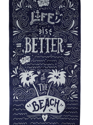 Kaat Amsterdam KAAT strandhanddoek Beach Life