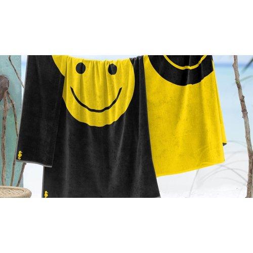 Seahorse Velours strandlaken Smile