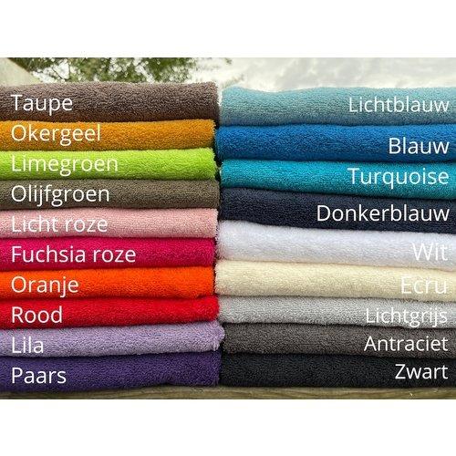 Badhanddoek borduren