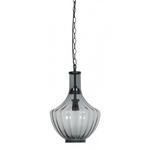 Light & Living Hanging lamp 30.5cm x 49cm Galina Smoke glass