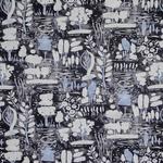 Annie Sloan Annie Sloan Dulcet in Graphite Fabric per m