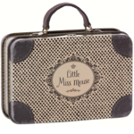 Maileg Maileg Metal Suitcase, Little Miss Mouse