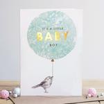Louise Tiler It's a Little Baby Boy Card