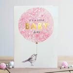 Louise Tiler It's a Little Baby Girl Card