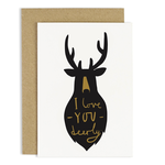 OLD ENGLISH CO. I Love You Deerly Card