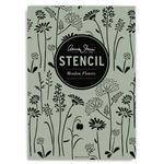 Annie Sloan Stencil A3 Design Meadow Flowers