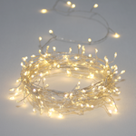 Light Style London Silver Cluster Fairy Lights 7.5M Long Indoor or Outdoor Mains
