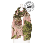 ONE HUNDRED STARS KEW Scarf Passion Flower Pink