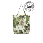 ONE HUNDRED STARS KEW Canvas Bag Passion Flower Aqua