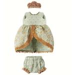 Maileg Maileg Clothes - Micro & Mouse, Princess dress, Mint