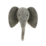 Fiona Walker Fiona Walker Semi Grey Elephant Head Trunk Up