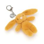 Jellycat Jellycat Bashful Saffron Bunny Bag Charm RETIRED