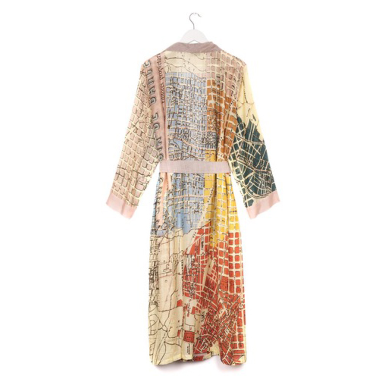 ONE HUNDRED STARS Barcelona Map Natural Gown