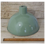 IRON RANGE Duck Egg Light Shade 300m dia 190mm high Aprox ( 30mm Hole - fits our bayonet lampholders )