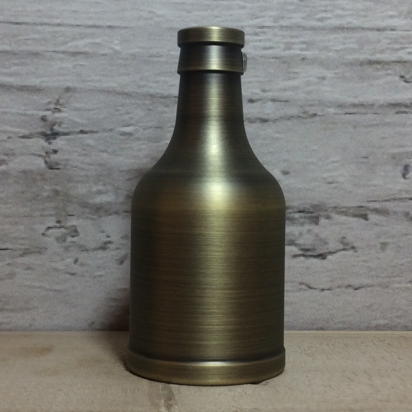 MaxLight Antique Brushed Brass Finish Lampholder With cord grip plastic E27 Fixing
