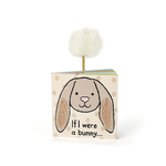 Jellycat Jellycat If I were an Bunny Board Book (Beige)