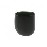 S-c Brands Tealight Vase - Black/Green Tall