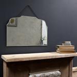 Nkuku Vintage Rectangular Wall Mirror - Glass - 40 X 60 X 0.5CM